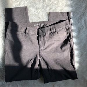 Gray Old Navy Pixie Pant